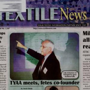 Udo Schweizer Textile News